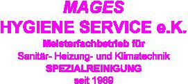 Mages Hygiene-Service e.K.